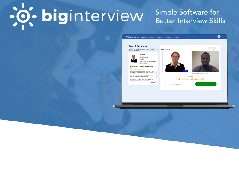Students: Log into Big Interview
