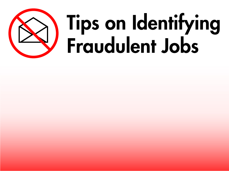 Identifying Fraudulent Jobs & Email Scams